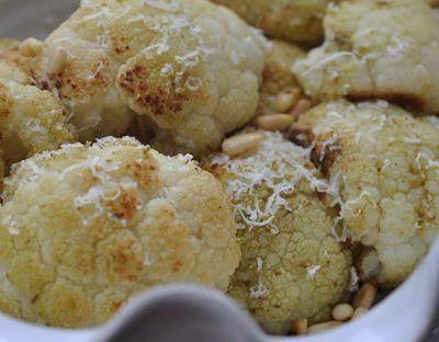 Roast Pesto Cauliflower