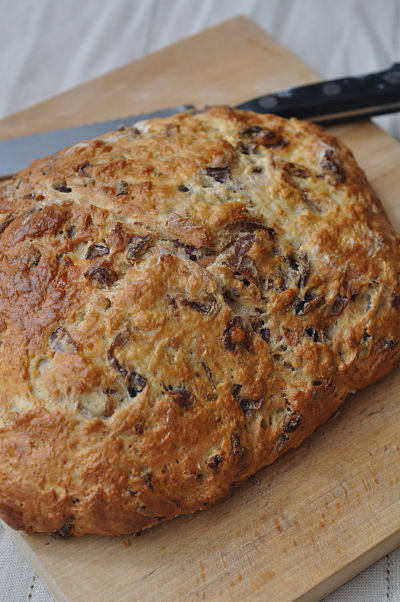 Caramelised Red Onion Soda Bread