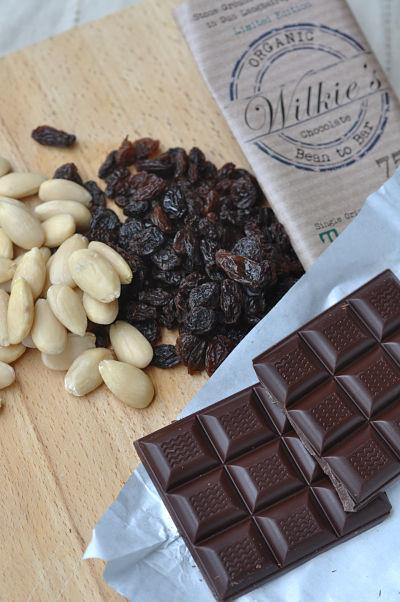 Fruit & Nut Cluster Ingredients
