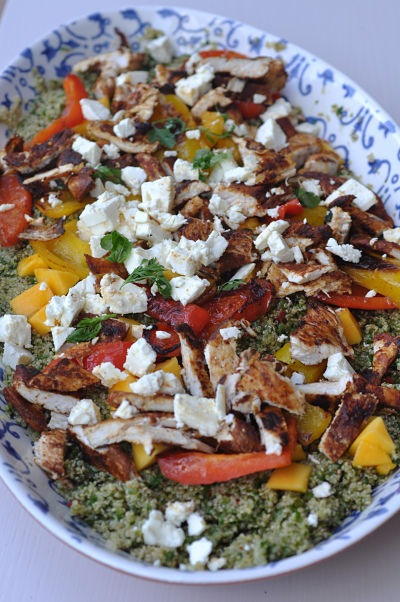 Jamie olivers san fran quinoa salad gimme the recipe jamie oliver blackened chicken ccuart Gallery