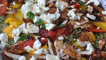 Jamie Oliver S Modern Greek Salad Gimme The Recipe