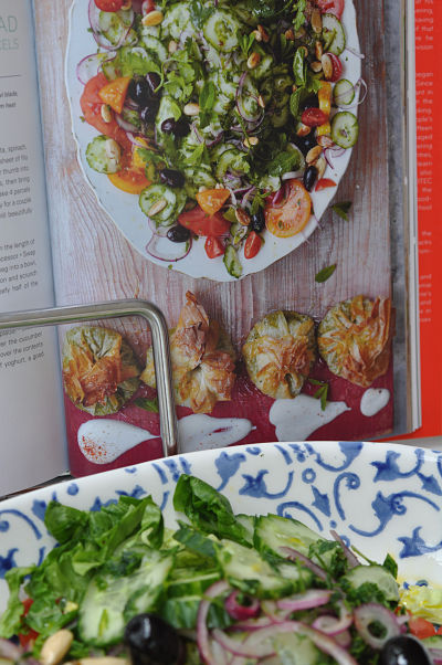 Jamie Oliver's Modern Greek Salad With Feta Parcels Recipe ...