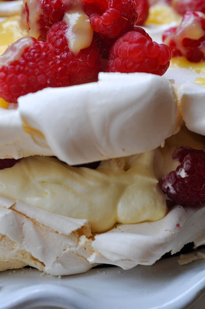 Lemon & Raspberry Pavlova 3