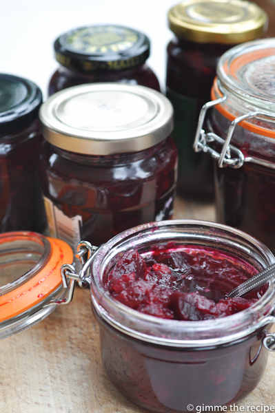 jar beetroot chutney