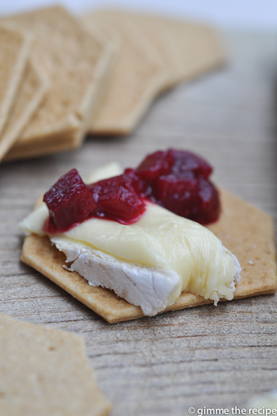 lara beetroot chutney on cracker