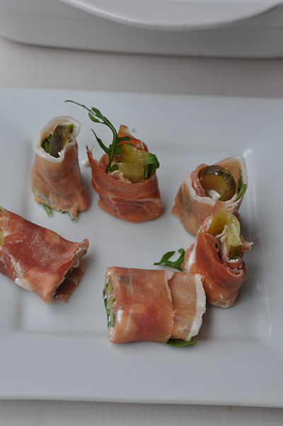 Party Food Simple Canapes