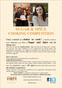 Sugar & Spice Competition