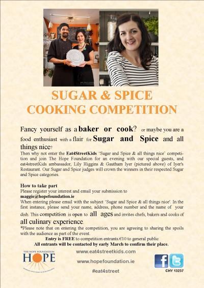 Sugar & Spice Competition