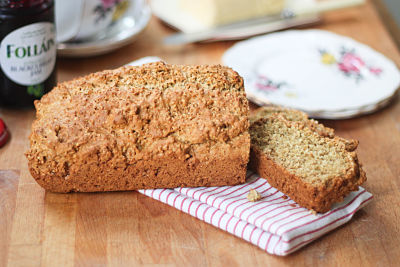No Knead Brown Bread