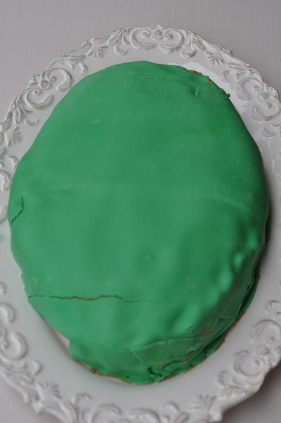 Green Sugar Paste icing