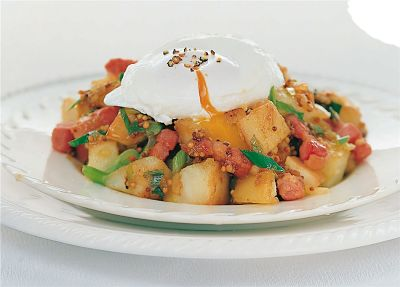 Poached Eggs & Home Fries