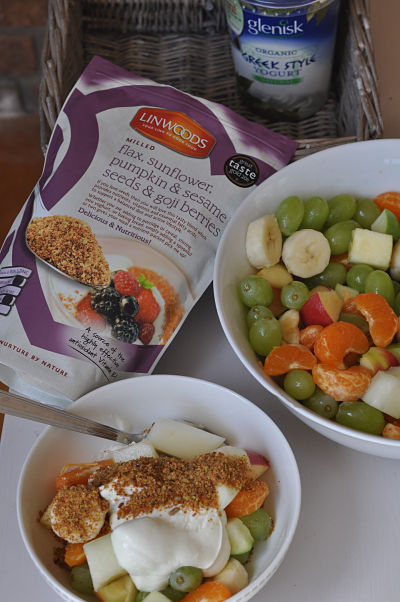 Power Fruit with Glenisk and Linwoods