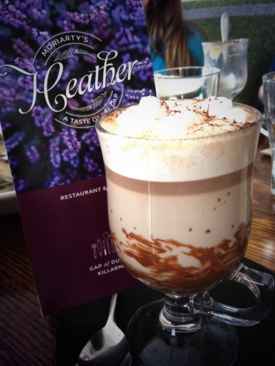 Hot Chocolate with Skellig at The Heather