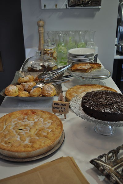 Pastries at The Heather