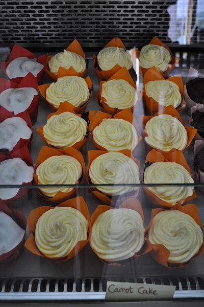 Delicious cupcakes at Along the Way, Goleen
