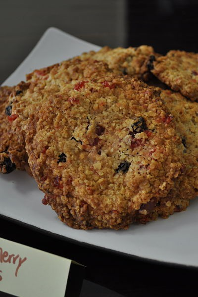 Freshly baked cookies at Along the Way, Goleen