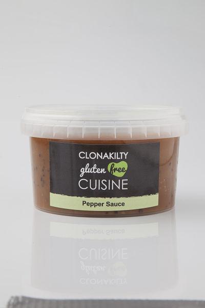 Scallys gluten free pepper sauce