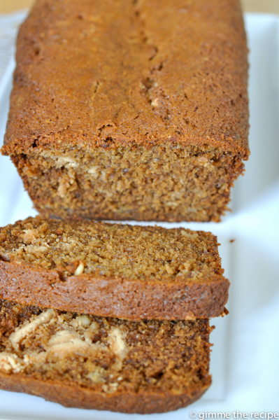 Banana and Peanut Butter Bread