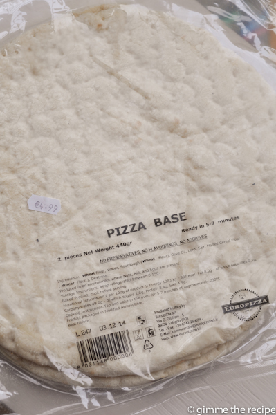 Pizza Base from Pane e Vino