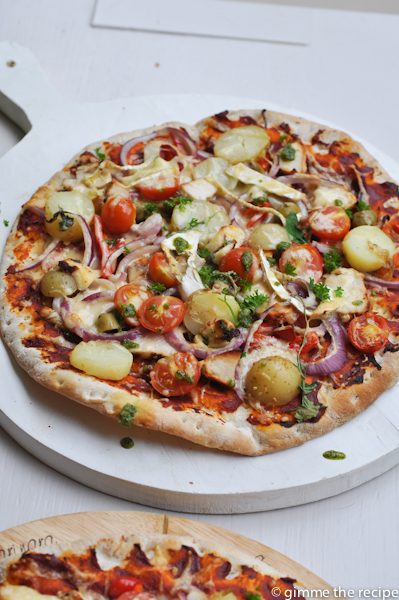 Pollo e Patata pizza