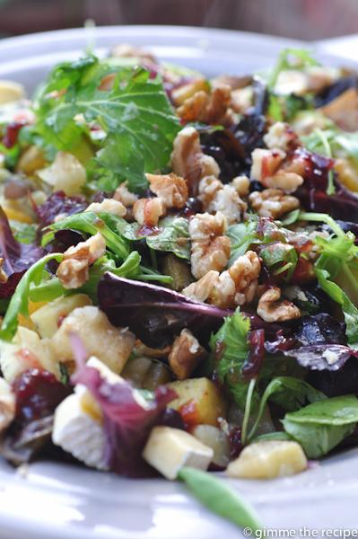 Warm winter salad II