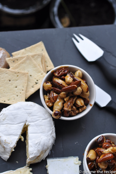 Crackers, Cheese & Nuts