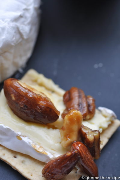 Beer Nuts on Brie