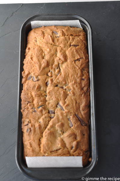 Choc Chip Loaf Cake 1