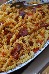 Chorizo Pasta CloseUp