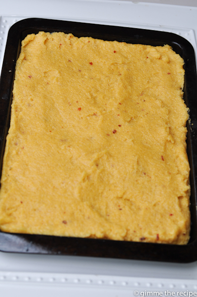 Cumin and Chilli Polenta Chip Paste