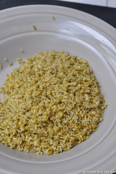 freekeh cooked