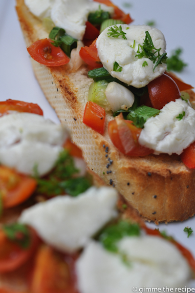 Bruschetta CloseUp