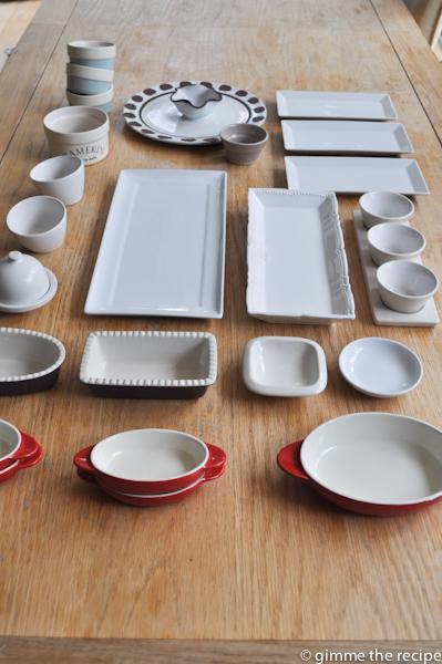 dip and ramekin dishes