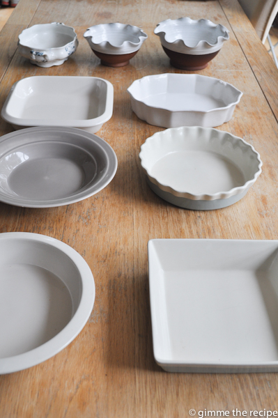 serving bowls I