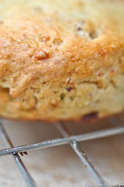 breakfast scone close up