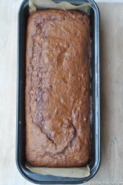 Blackberry & Apple Loaf Cake Baked