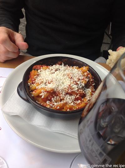 Sicilian Pasta at cul de sac