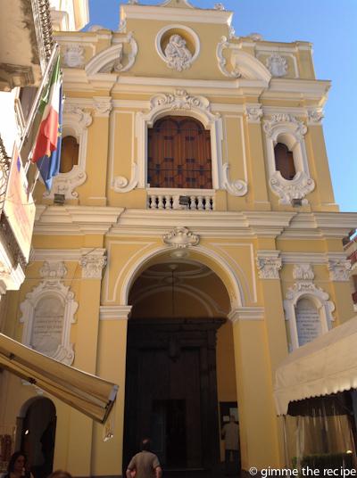 Sorrento building