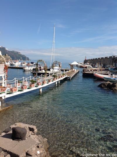 Walk on water Amalfi