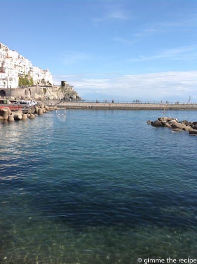 water amalfi