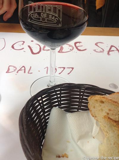 wine at cul de sac