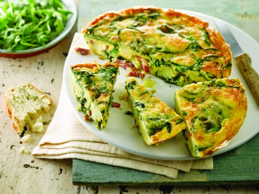 Bord Bia Quality Mark - Bacon, Spinach and Potato Frittata (2)
