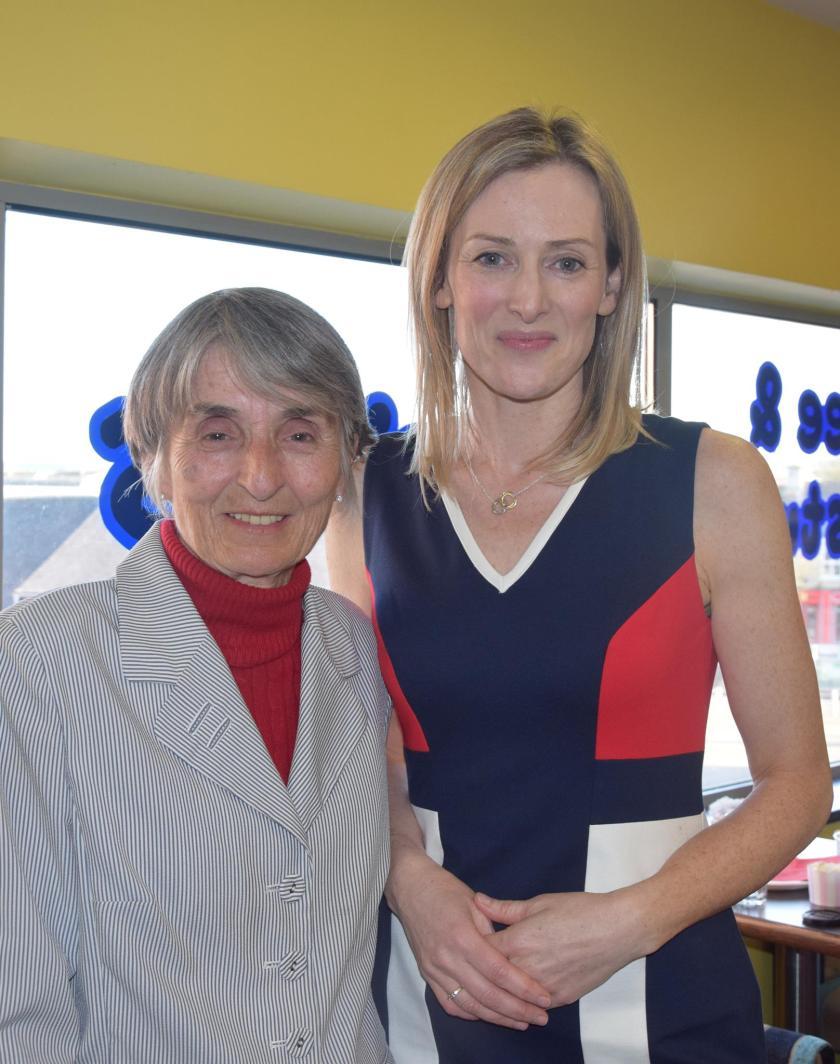 Mary Feehan MD Mercier Press & Sheila Kiely author of Enjoy! & Gimme the Recipe