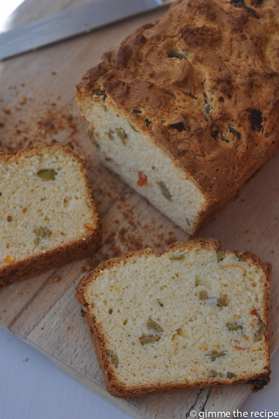 GF Olive and Sundried Tomato Bread Sliced