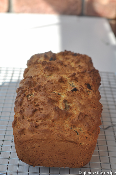 GF Olive and Sundried Tomato Loaf