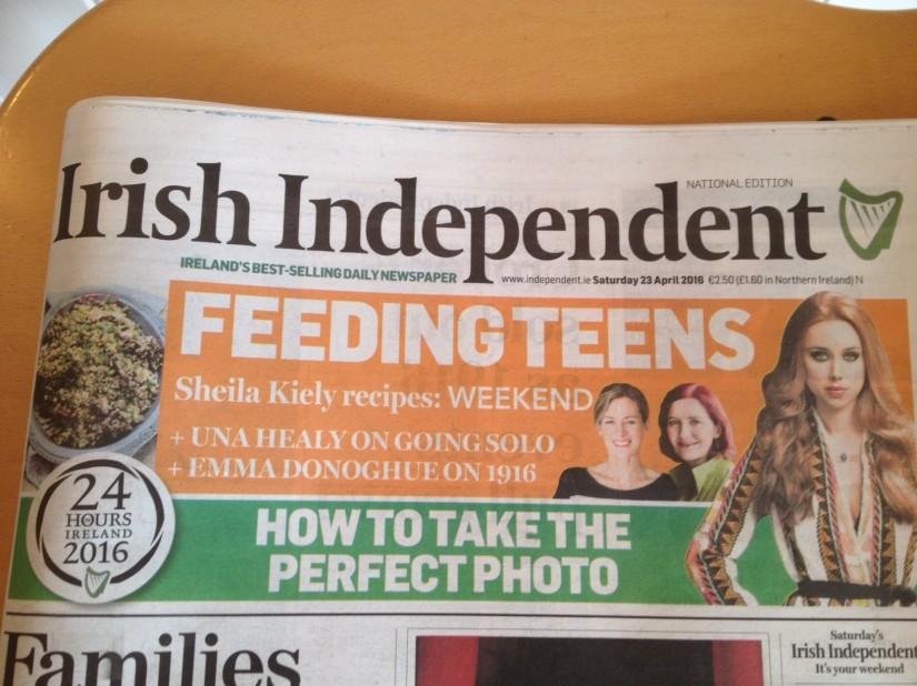 Banner Header Irish Independent