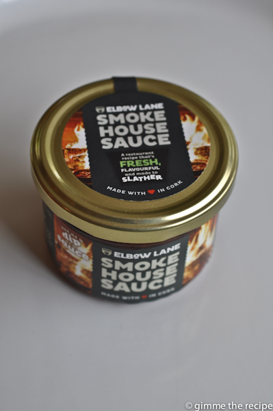 Elbow Lane Smoke House Sauce jar