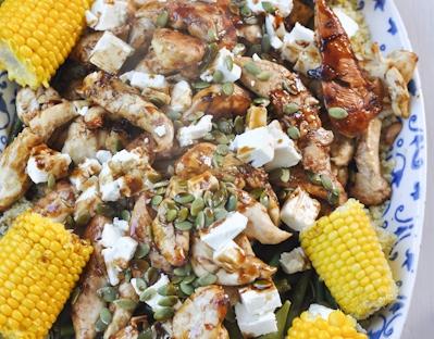 no chop chicken dinner platter