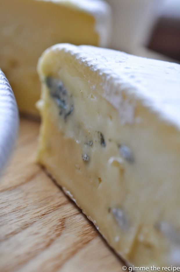 irish wicklow blue brie