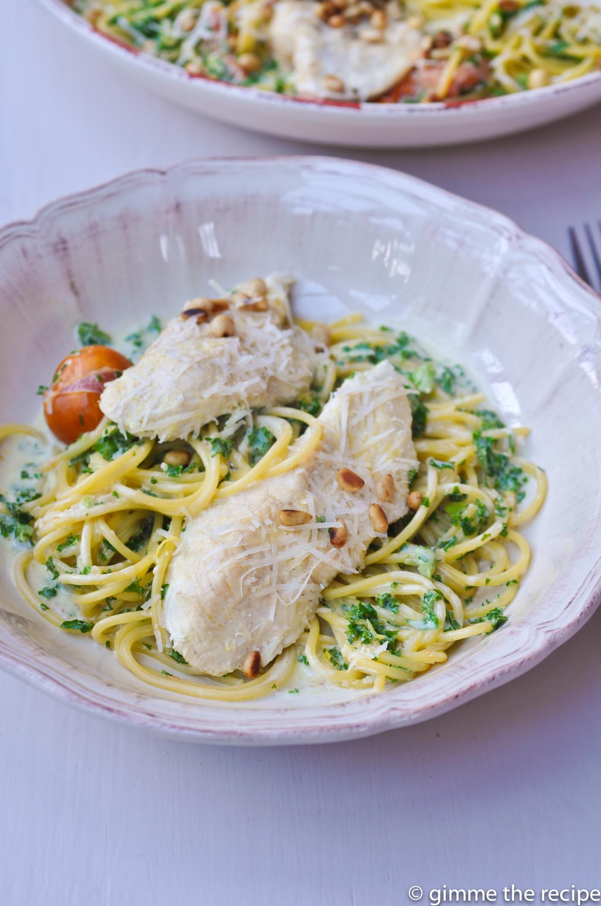 Lemon & Parmesan Chicken